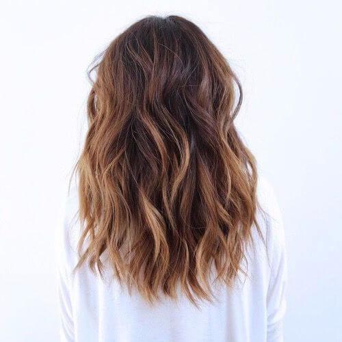 largos peinados naturales