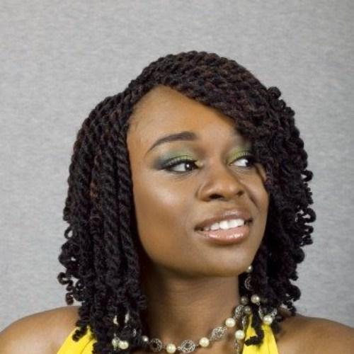 senegalés twist bob peinados para mujeres negras