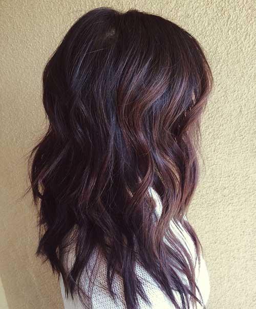 Moda morena cabello colores 2015