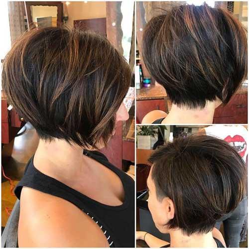 Brown Short Hairstyles-7