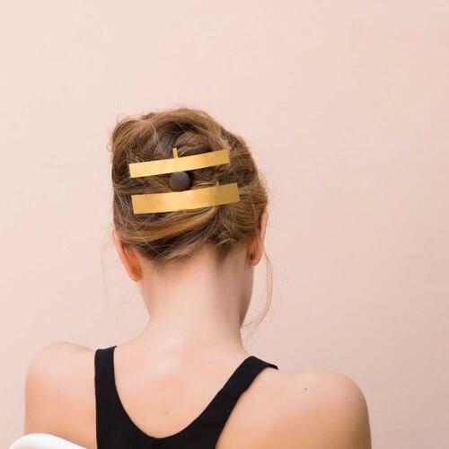 joyas de oro peinados frescos para niñas