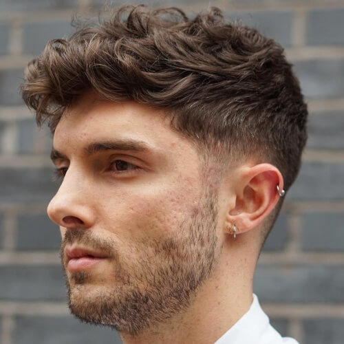 Peinados para hombres con cabello grueso y rizado