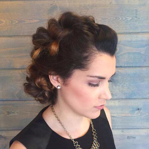 trenzas peinados updos
