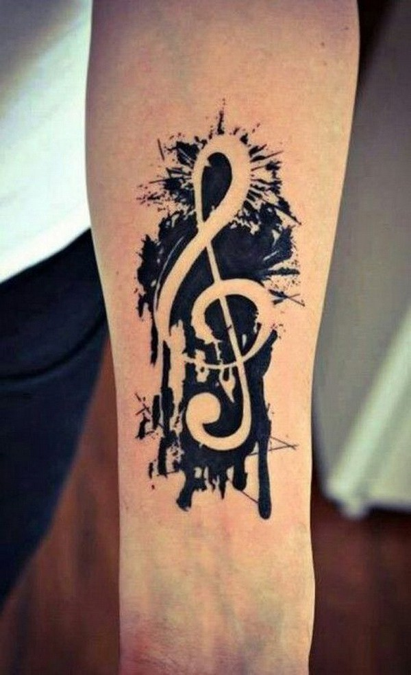 Music Sleeve Tattoo para Hombres.