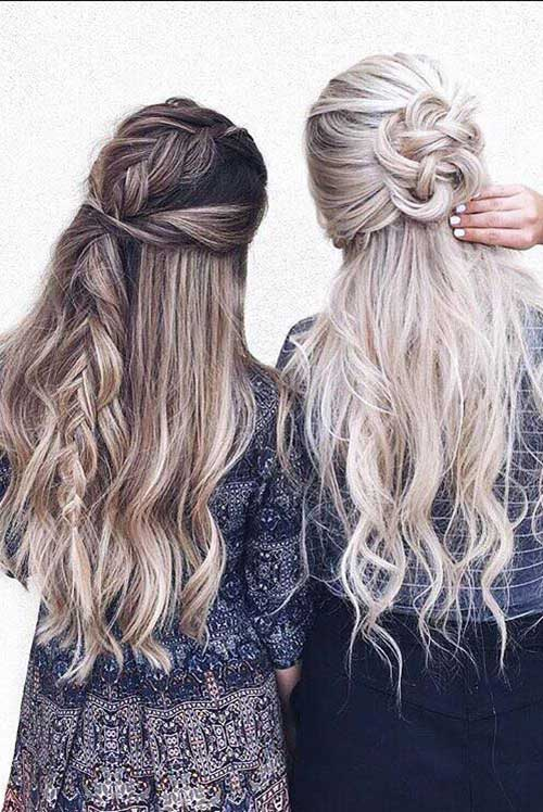 Estilos largos de corte de pelo