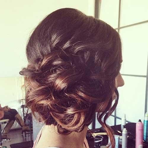 Súper preciosos peinados de boda Inspiración