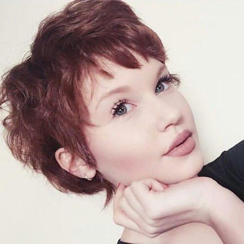 pelo rojo pixie