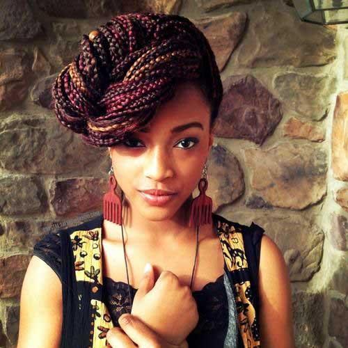 Mejores trenzas de peinados negros africanos