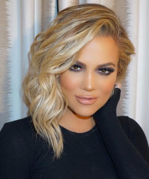 corte de pelo khloe kardashian shag