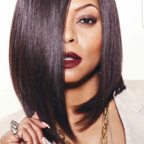 taraji p henson bob peinados para mujeres negras