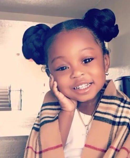 adorables peinados de niña negra