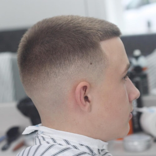 Taper Fade Teenage Haircuts