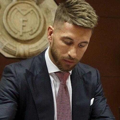 Corte de pelo Sergio Ramos picado