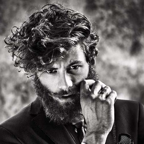 peinados ocasionales de longitud media para hombres
