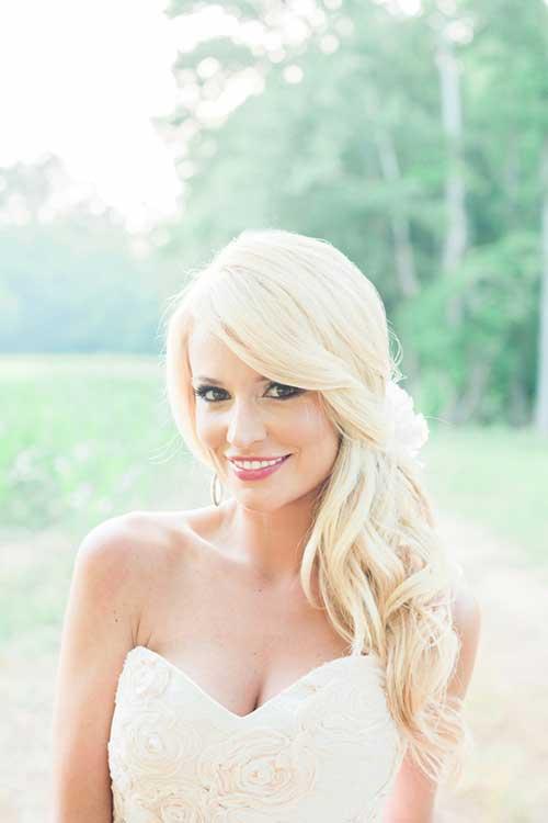Emily Maynard lindo cabello de la boda