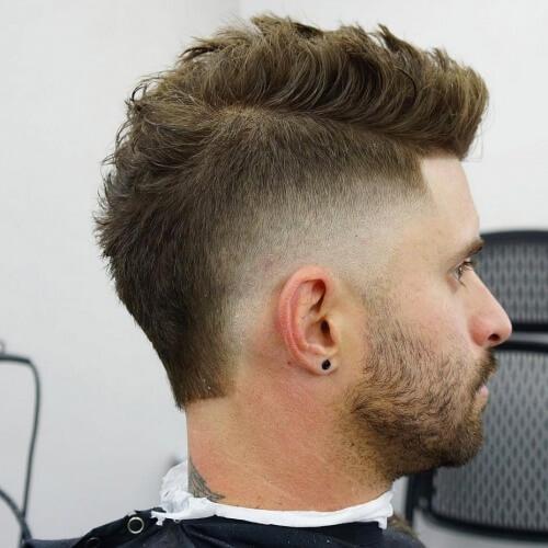 Mohawk Peinados de punta para hombres
