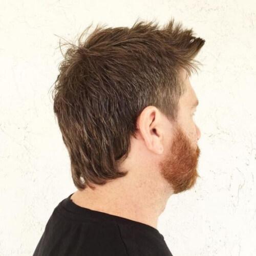 Corte de pelo sutil Mullet