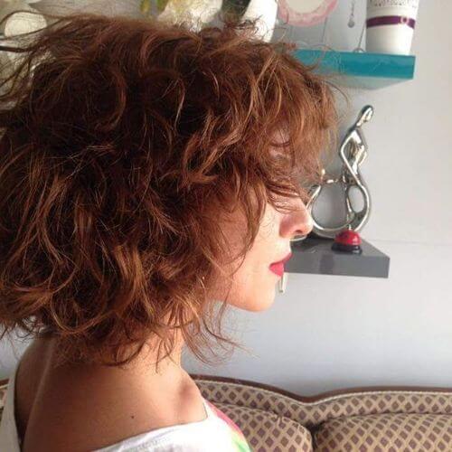 peinados en capas para el cabello fino