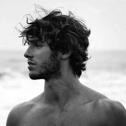 Peinados de surfista