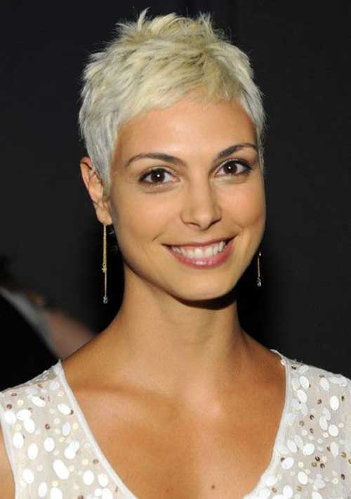 Platinum Blonde Short Pixie