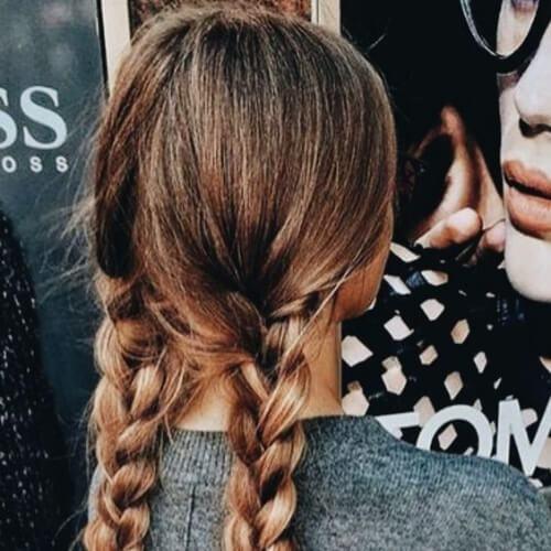 trenzas peinados trenza para cabello largo