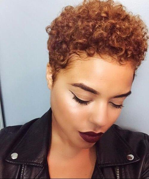 peinados afro para pelo grueso