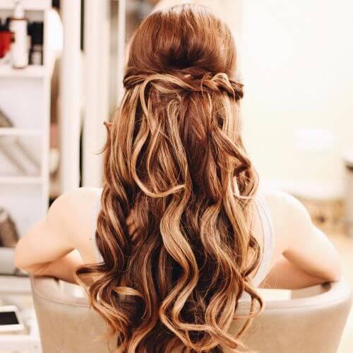 fresa cabello rubio halfdo
