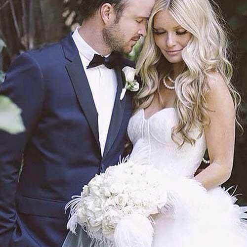 Gorgeous Wedding Hairstyles ondulado rizos