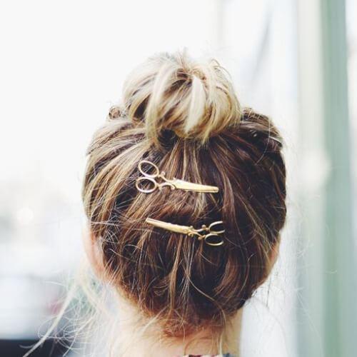 tijeras pins peinados frescos para niñas