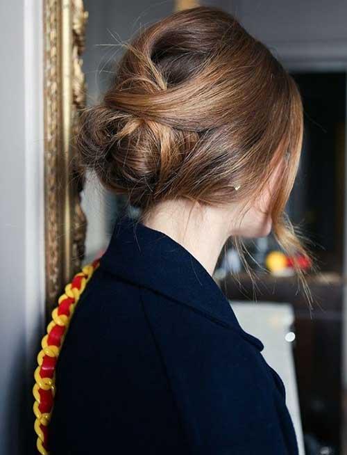 French Bun Hair-8