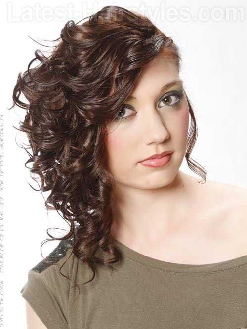 Últimos peinados rizados 2016-15