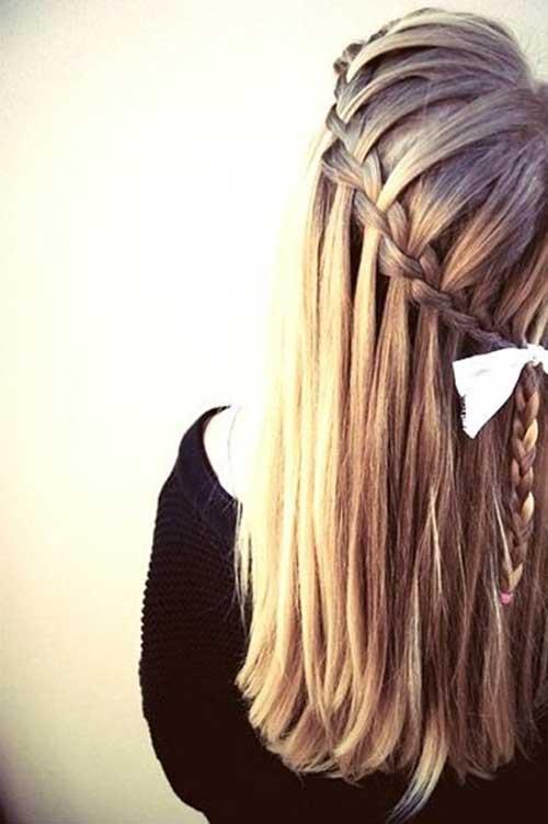 Bonitos peinados de novia con trenzas
