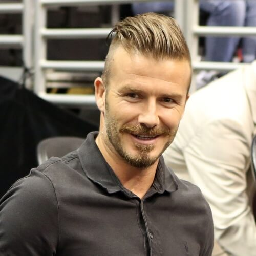 Peinados David Beckham Undercut