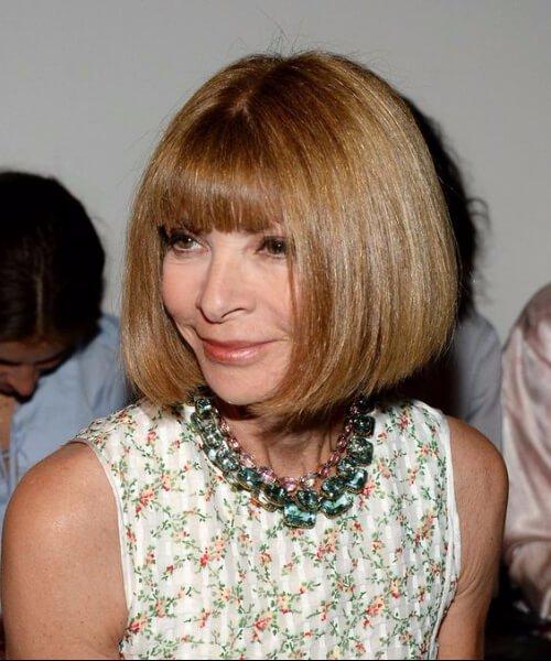 anna wintour hairstyles para mujeres mayores de 40 años