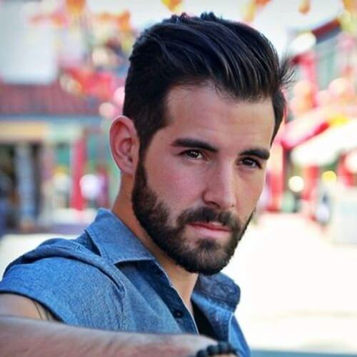 Los mejores peinados para hombres con pelo grueso y barbas
