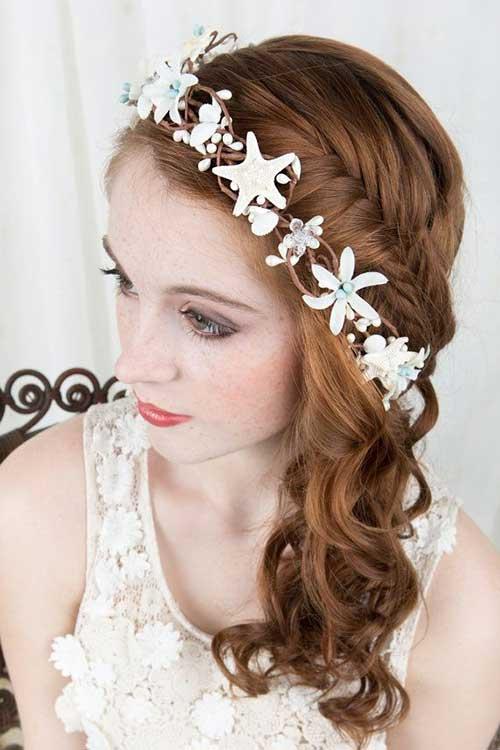 Concha Hairband para peinados de boda