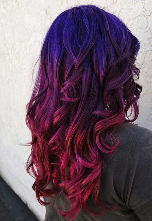 Hair Red Color-16