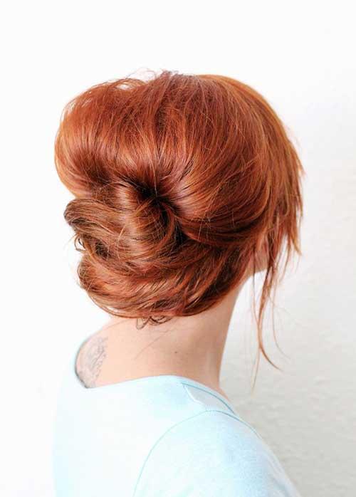 French Bun Hair-14