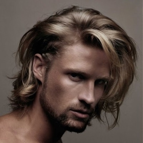 Shaggy Hairstyles para hombres