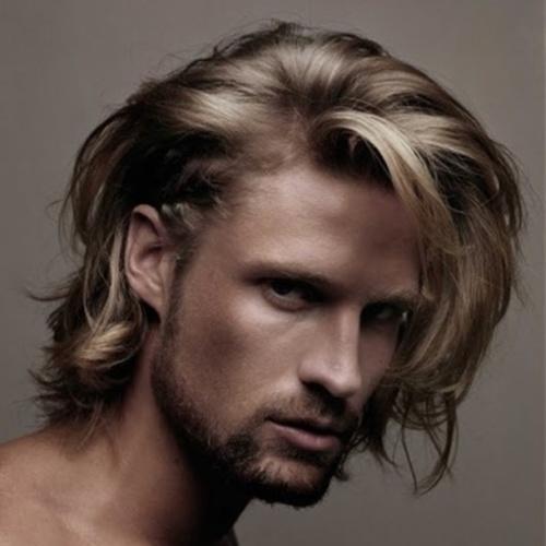 Shaggy Hairstyles para hombres