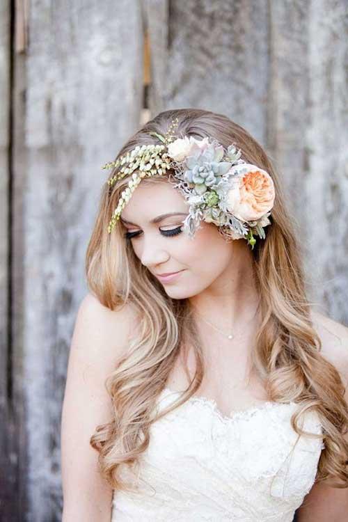 Diademas de flores de la boda de la belleza