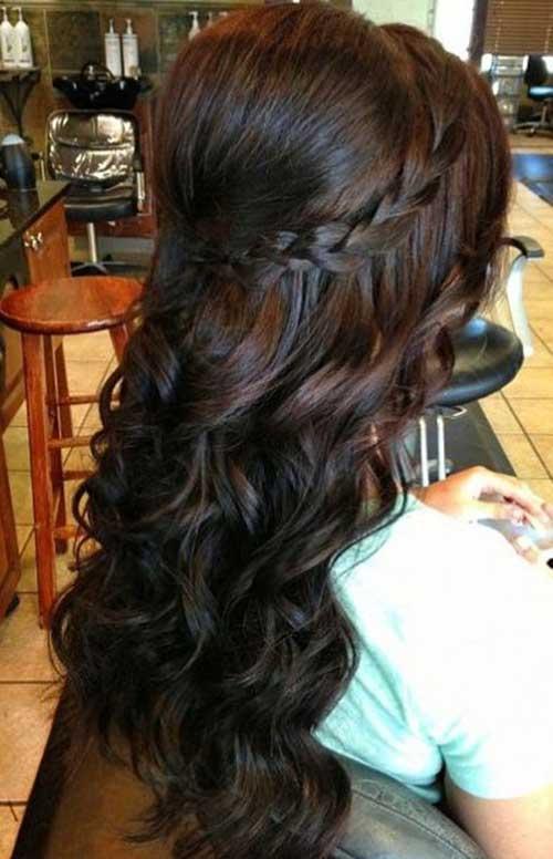 Lindos y largos peinados rizados-27