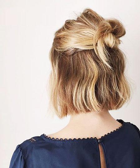 Peinados cortos fáciles - 8