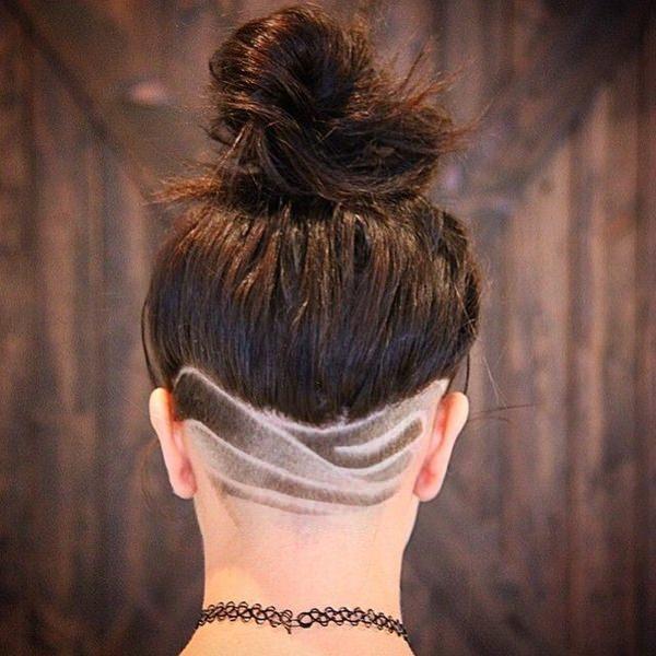 peinados afeitados para mujeres 39