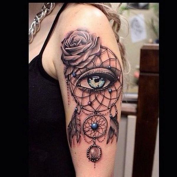 Arm Dreamcatcher tatuajes.