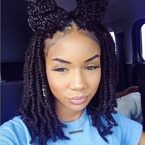 Peinados protectores lindos para el cabello natural