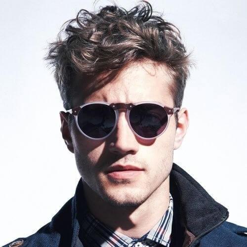Cool Mens Hairstyles para cabello ondulado