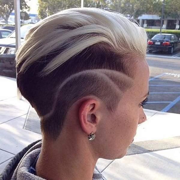 peinados afeitados para mujeres 34