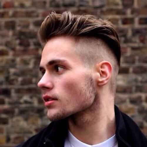 Peinados Mohawk afeitado para hombres
