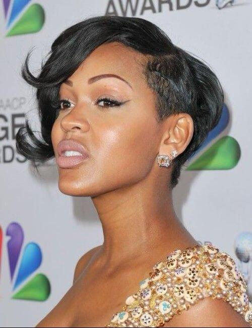 meagan buenos peinados cortos para mujeres negras
